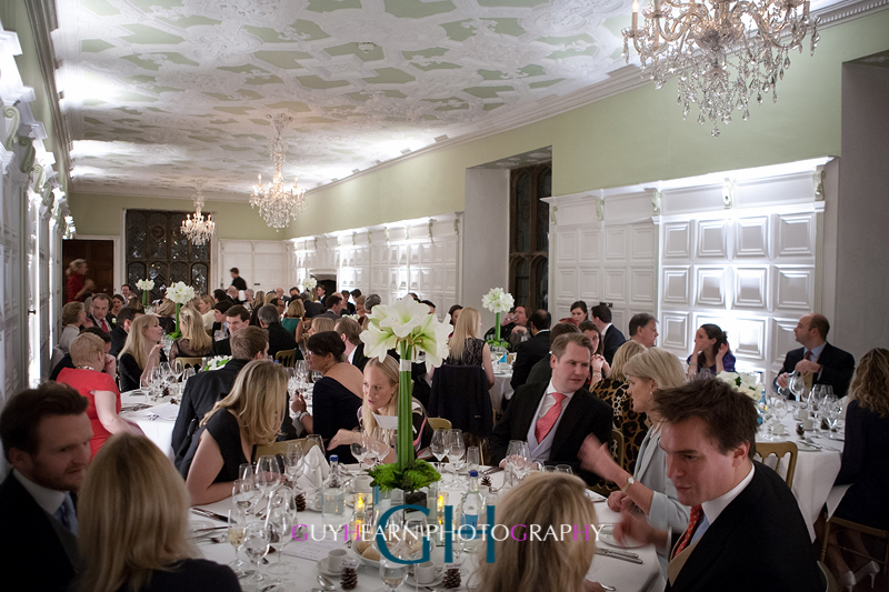 hengrave hall wedding breakfast