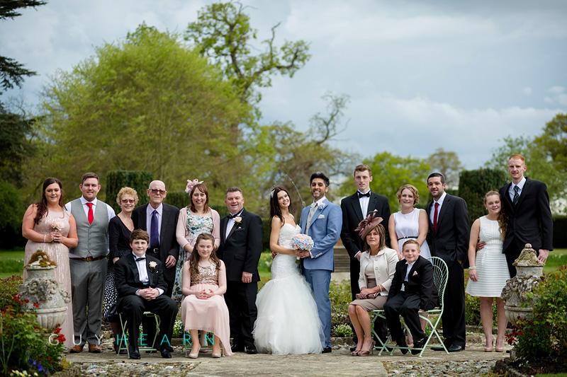 hengrave hall wedding photographs 20