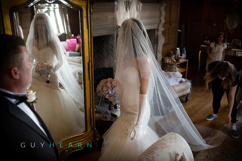 hengrave hall wedding photographs 37